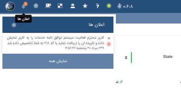 notification