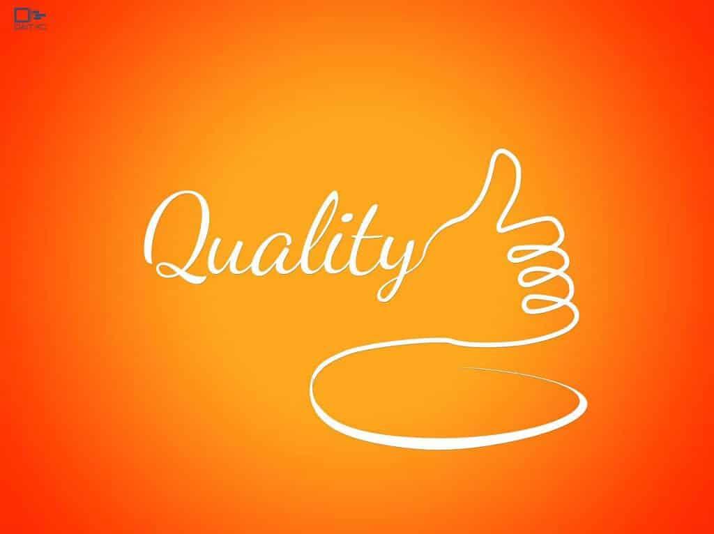 اهمیت کیفیت نسبت به کمیت در روشهای مدیریت پروژه