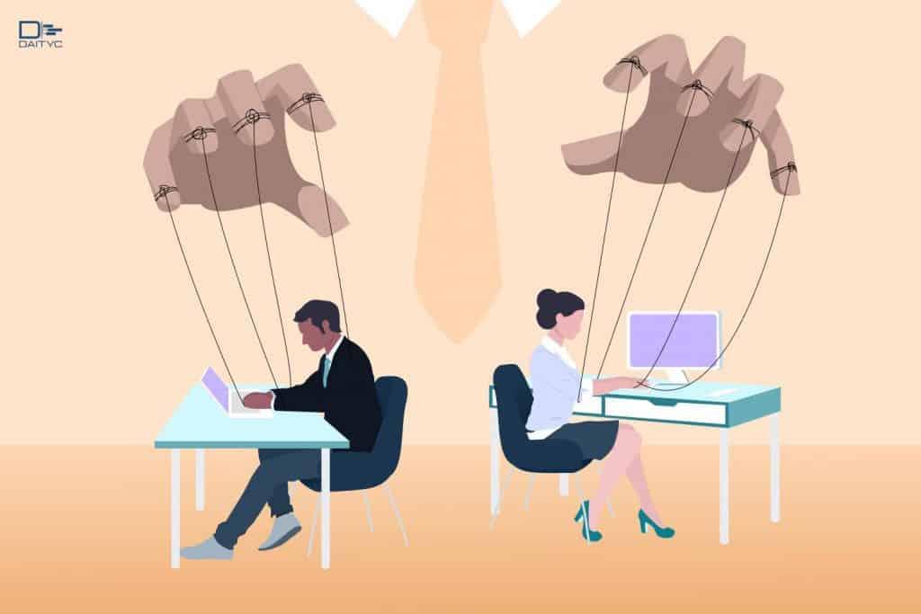 ارتباط مدیریت عملکرد با مدیریت ذره بینی رفتار کنترلگرانه مدیر